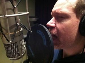 JD at the mic