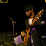 Andrew Stewart on bass